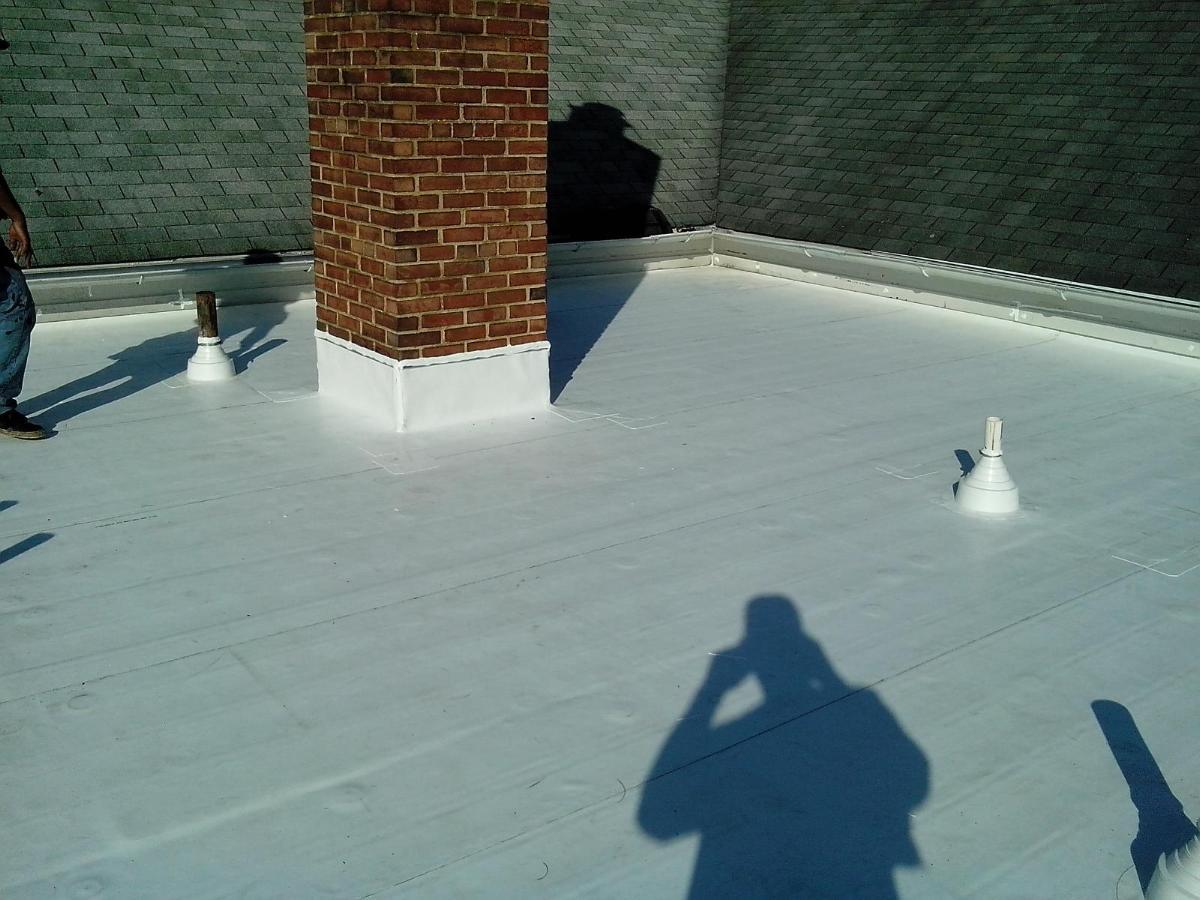 Tpo Roofing Liberty Commercial Roofing